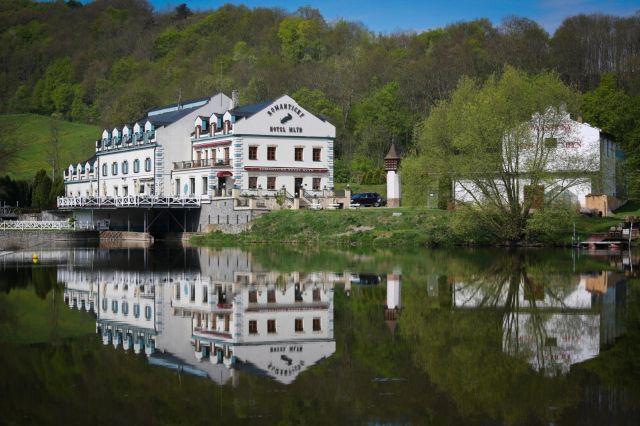 hotel u hradu Karlštejn